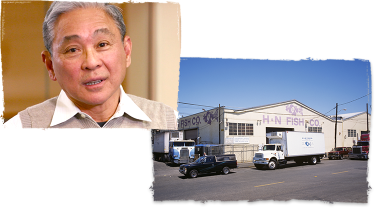 H & N Fish Co. Founder Hua Ngo